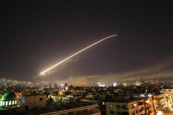 Attacco militare in Siria