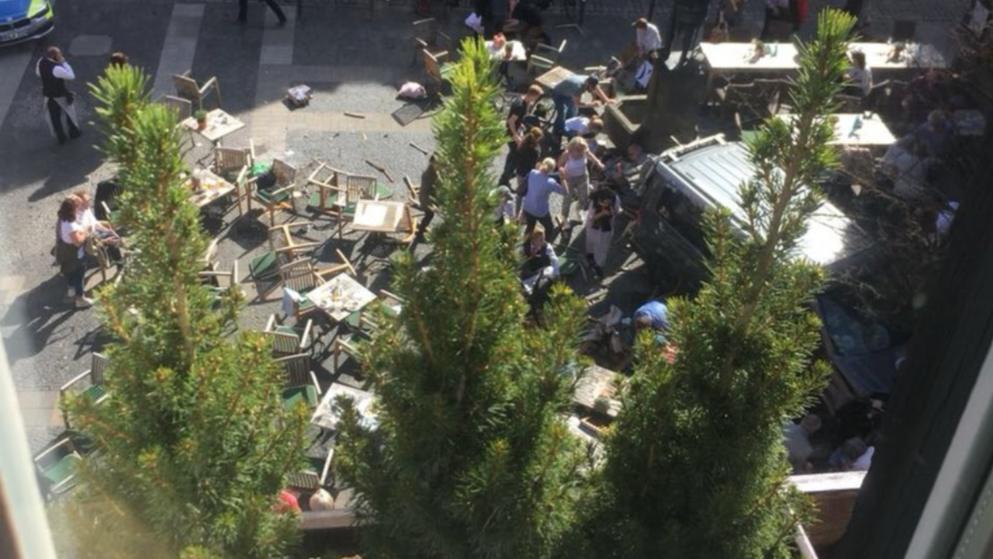 attacco terroristico Münster Germania