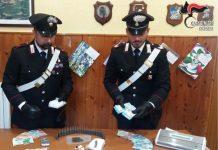 carabinieri rogliano soldi droga