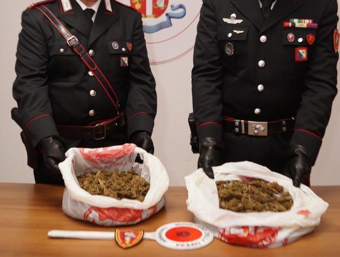 Droga, un arresto dei Carabinieri