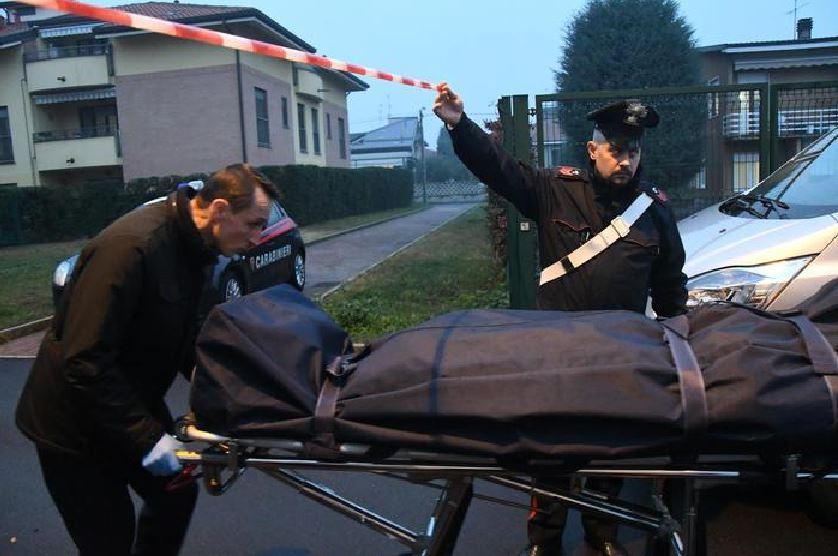 omicidio carabinieri cadavere