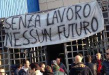 protesta disoccupazione lavoro