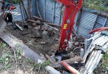 serra sotterranea gizzeria