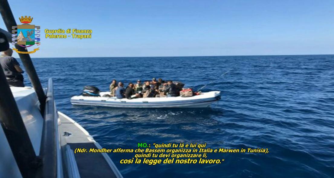 traffico migranti tunisia