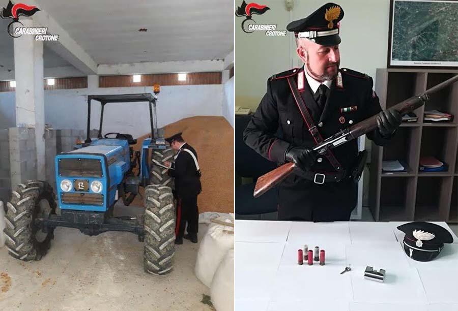 trattore e fucile