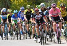 Una delle tappe del Giro d'Italia 2018