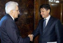 Sergio Mattarella riceve Conte