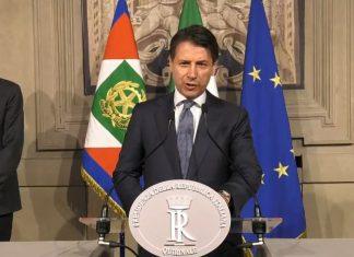 Giuseppe Conte discorso Quirinale