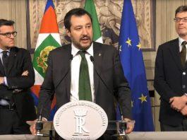 Matteo Salvini Centinaio Giorgetti quirinale