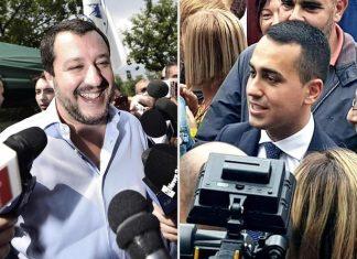 Matteo Salvini Luigi Di Maio