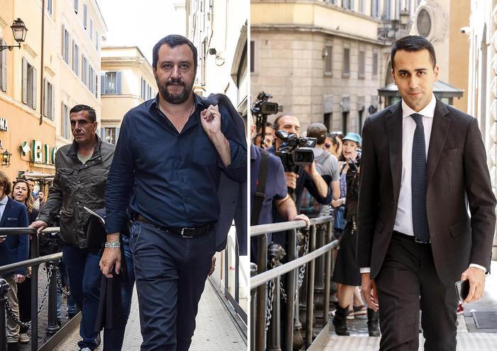 Salvini e Di Maio al Quirinale Ma serve ancora tempo