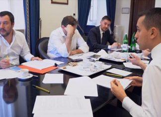Governo concluso incontro Di Maio-Salvini