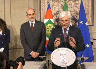 Zampetti annuncia Conte premier incaricato