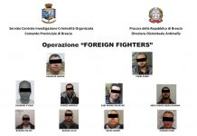 arrestati operazione foreign fighters