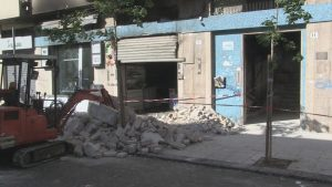 Due esplosioni a Cosenza di origine dolosa in locali commerciali