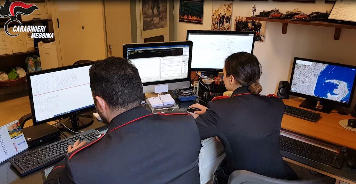 carabinieri Messina Fraudatores