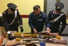 carabinieri armi paola