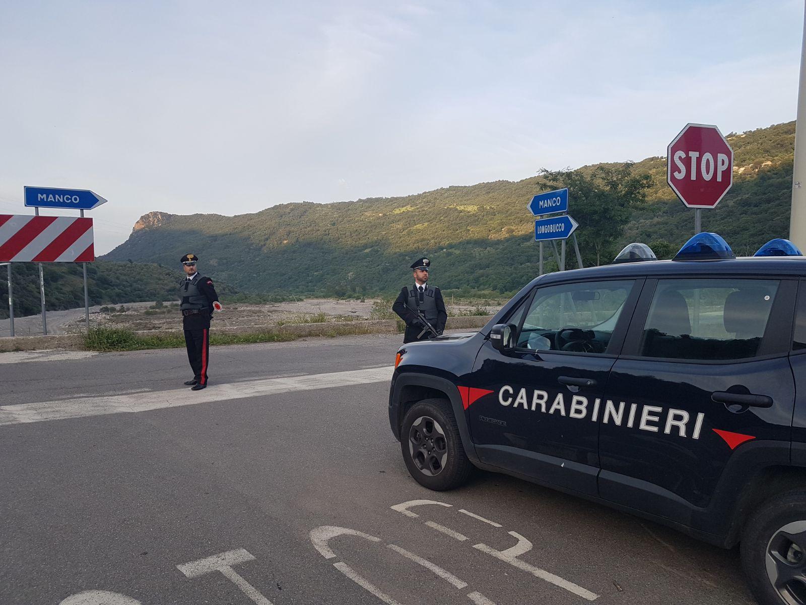 carabinieri rossano
