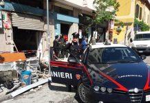 Bomba nella notte a Cosenza, distrutto locale in via Caloprese