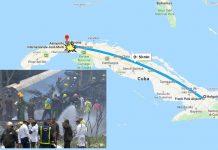 incidente aereo cuba
