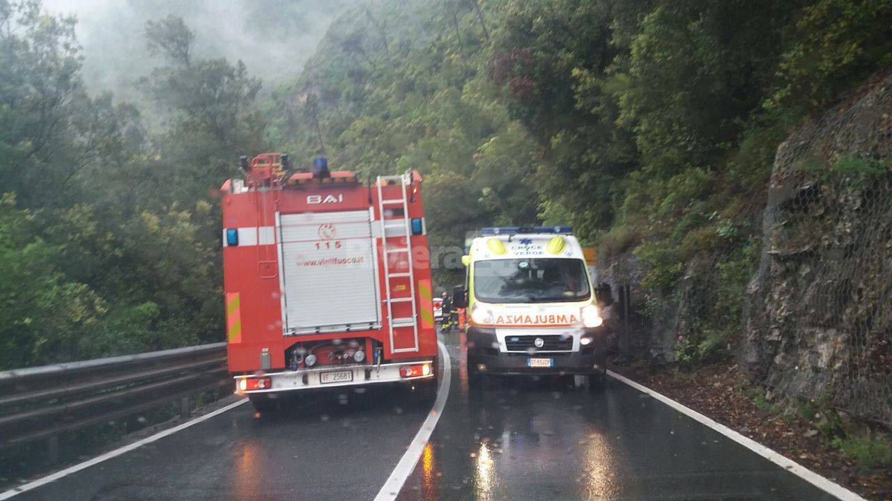 incidente stradale pioggia