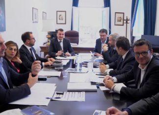 incontro tecnico politico M5s Lega