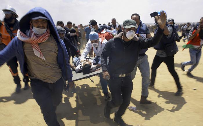 Protesta a Gaza