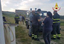 Intervento Vigili del fuoco e carabinieri per ricerche quindicenne
