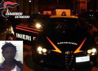 Nel riquadro Abou Ndour, il senegalese arrestato a Catanzaro