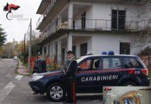 Carabinieri Cardinale esplosivo