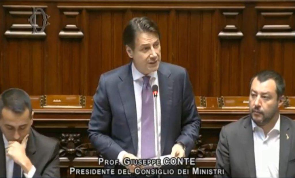 Giuseppe Conte alla Camera dei Deputati