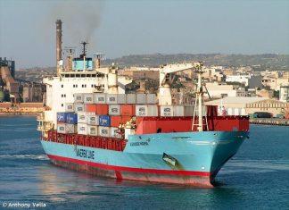 Nave cargo Alexander Maersk