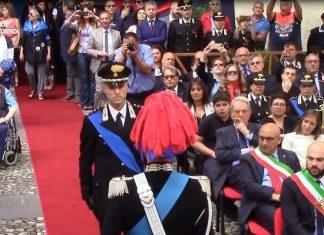 Il comandante provinciale dei Carabinieri di Cosenza ten. col. Piero Sutera