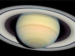 Saturno ripreso da telescopio Hubble
