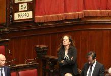 Wanda Ferro alla prima seduta di insediamento alla Camera dei deputati