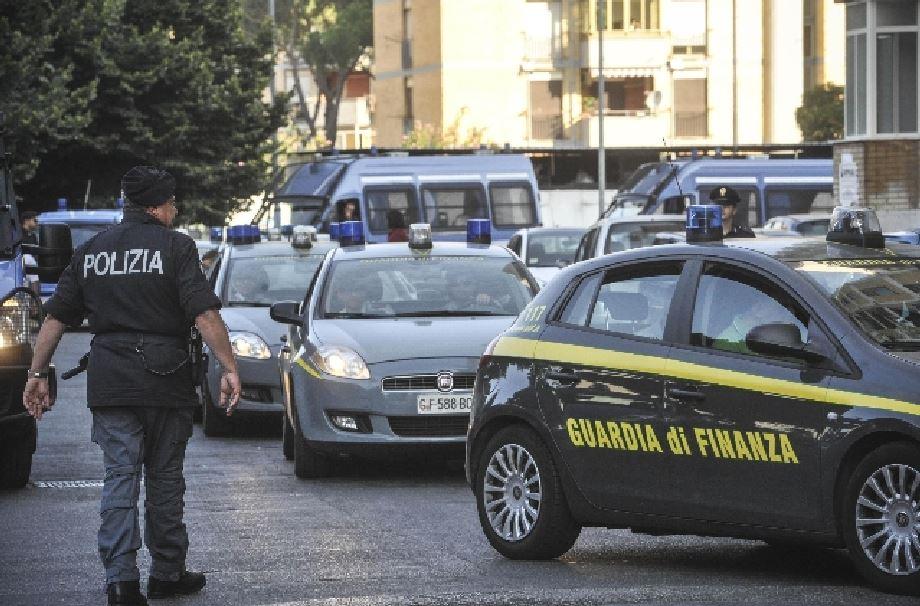 blitz finanza polizia operazione interforze