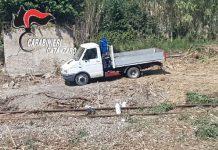 camion furto legname