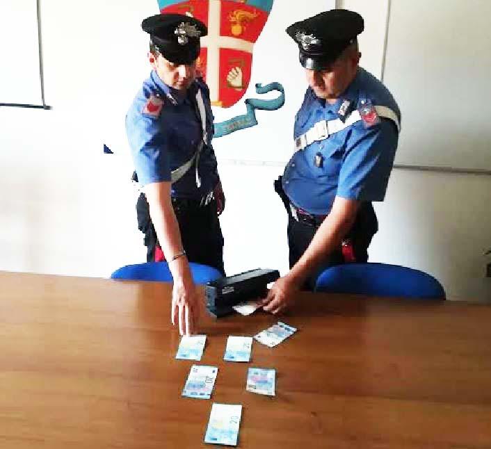 carabinieri corigliano banconote false