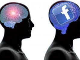 cervello social media facebook