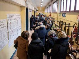 coda elettori seggi