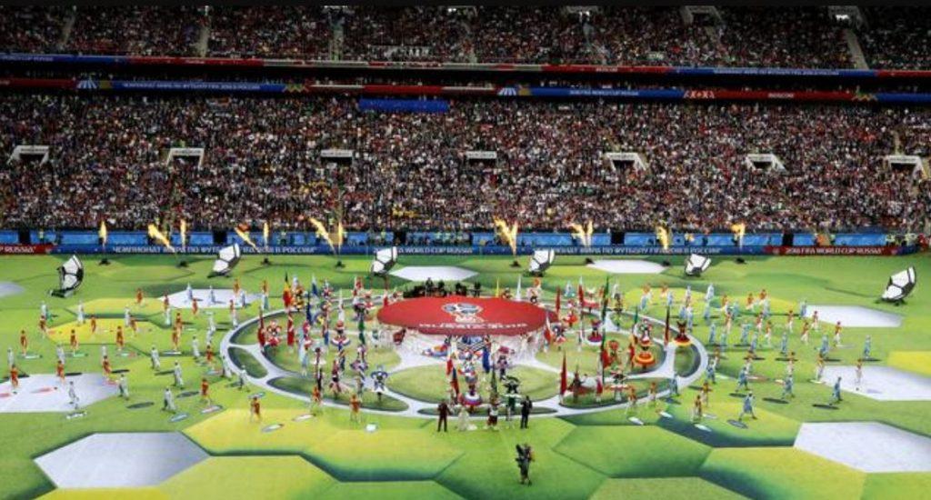 inaugurazione mondiali Russia 2018