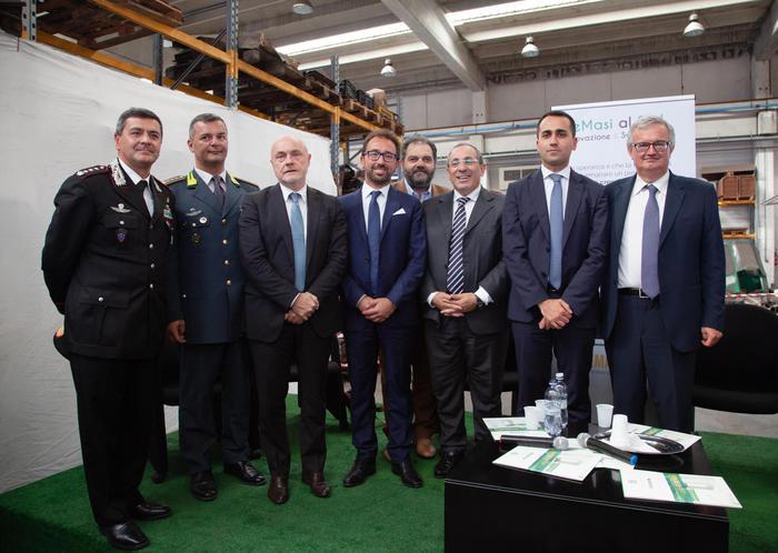 Di Maio incontra imprenditore De Masi