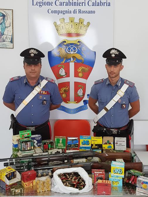 armi munizioni Scala Coeli