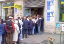 fila poste pensione