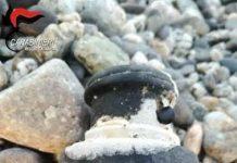 granata spiaggia monasterace