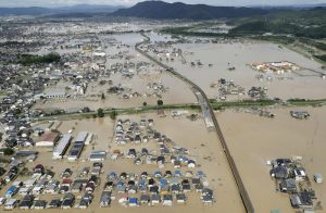 Maltempo in Giappone, 200 morti