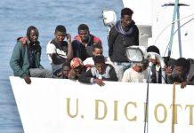 Migranti sulla nave Diciotti