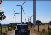 operazione via col vento parco eolico carabinieri