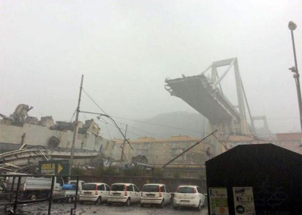 Il ponte crollato a Genova: vittime