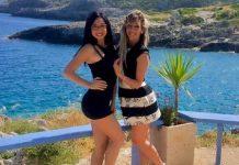 Da sinistra Miryam Mezzolla e Claudia Giampietro, le due amiche ballerine morte nel Raganello